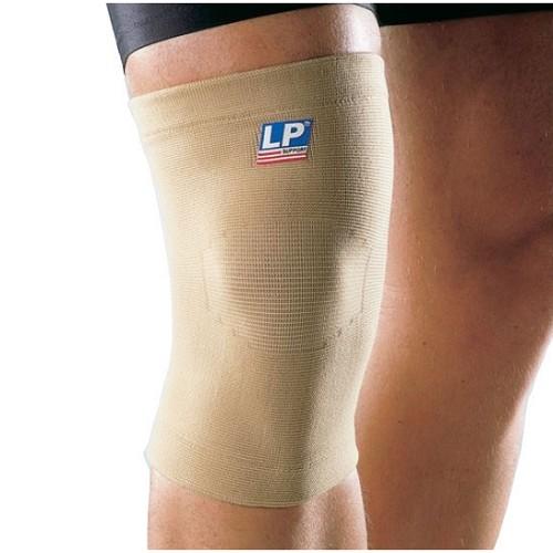 LP Support Knee Elastical Support Size XL [LP-951] - Tan - Pelindung Lutut / Knee Support